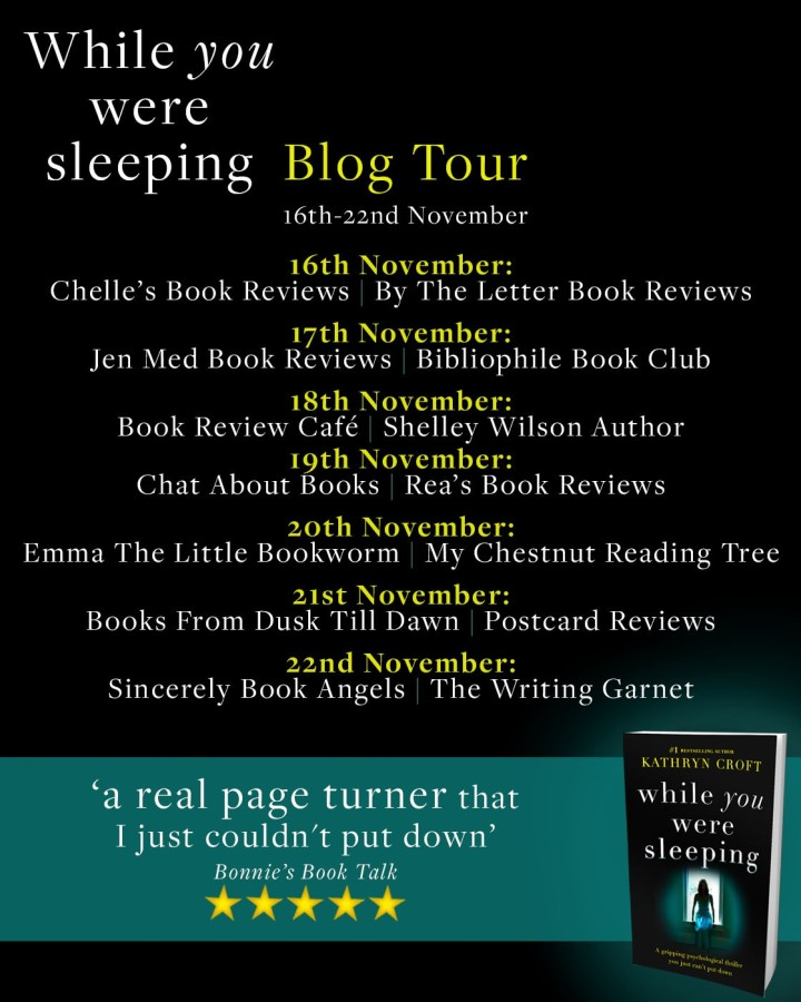 Review – 'While You Were Sleeping' by Kathryn Croft (@KatCroft, @bookouture)
