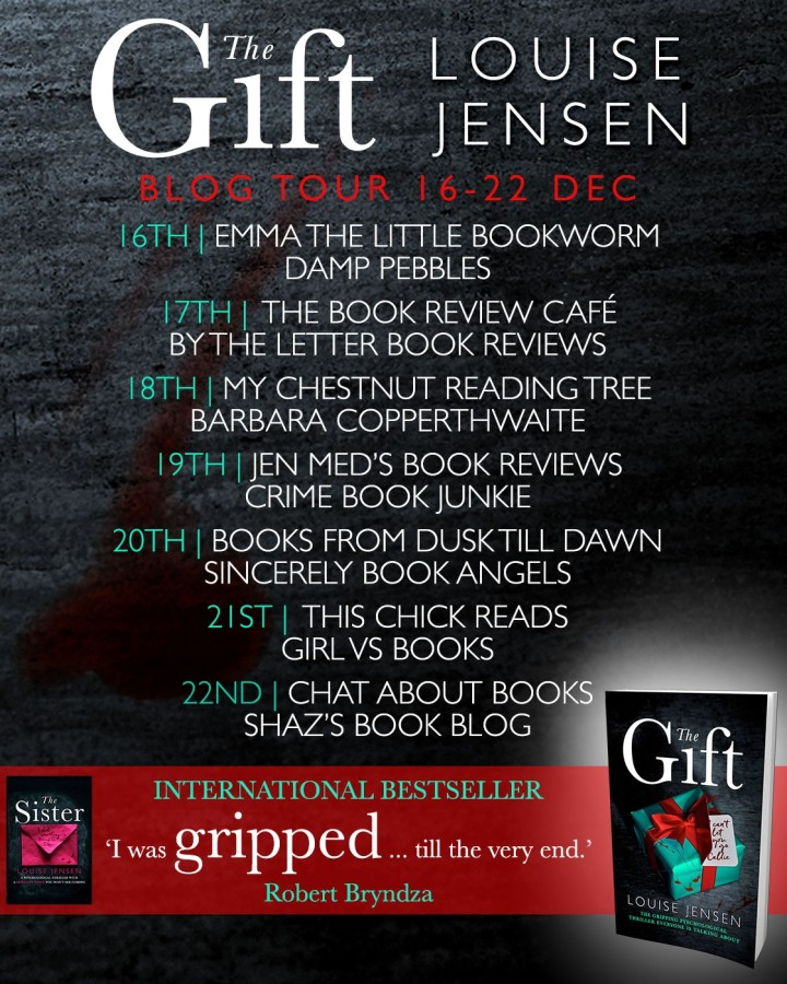 #Blogtour: Review – 'The Gift' by Louise Jensen (@fab_fiction; @bookouture)