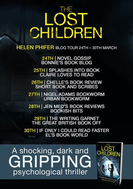 #BlogTour – Review: The Lost Children by Helen Phifer (@helenphifer1; @bookouture)