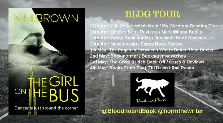 Blog Tour Review: The Girl on the Bus by N.M. Brown (@normthewriter. @Bloodhoundbook)