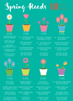 Spring Reads Calendar