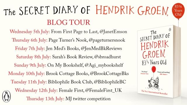 Hendrik Groen Blog Tour
