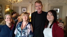 Me, Emma W, Lee Child & Abbie