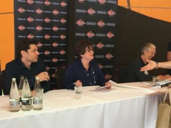 Kenny Doughty, Brenda Blethyn & Ann Cleeves