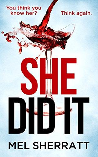 Review: She Did It by Mel Sherratt@writermels