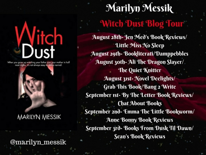 Witch Dust Blog Tour Poster