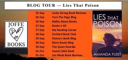 BLOG TOUR BANNER - Lies that poison