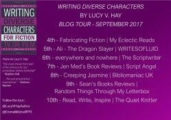 Writing Diverse Characters Tour Banner