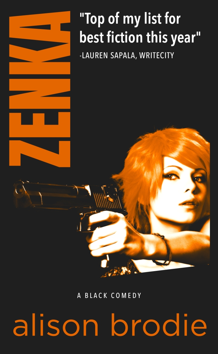 #Review: Zenka by Alison Brodie @alisonbrodie2
