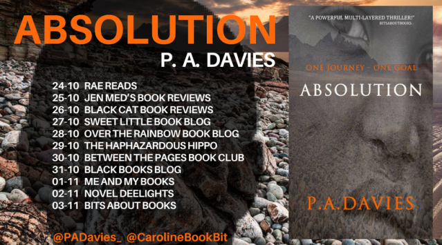 Absolution - P.A. Davies - Blog Tour Poster 3.0