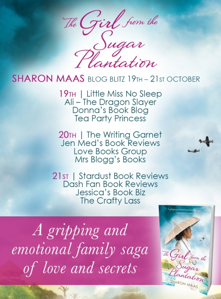 The Girl from the Sugar Plantation - Blog Tour