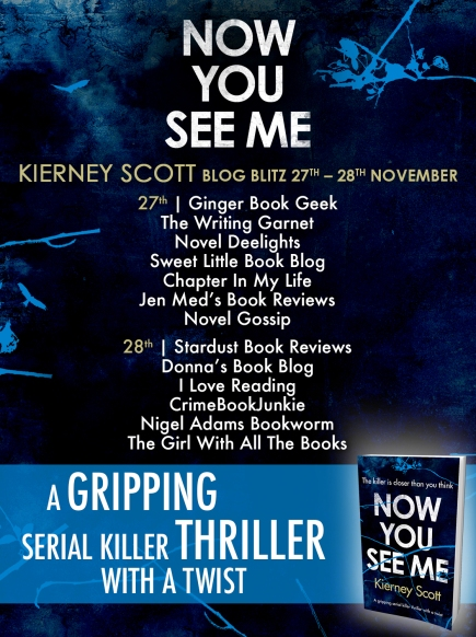 Now You See Me - Blog Tour