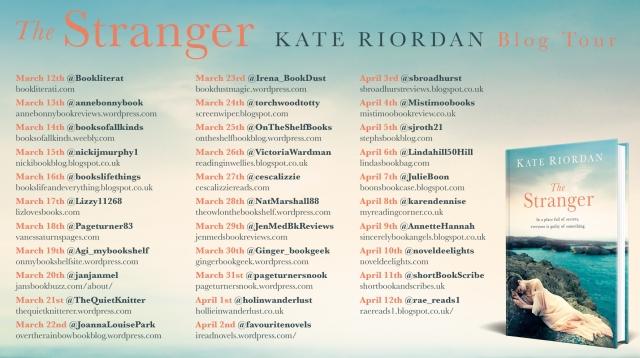 The Stranger blog tour