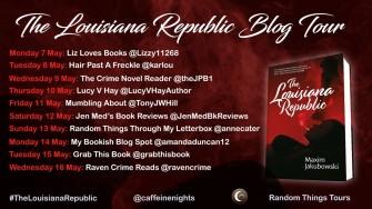 Louisiana Republic Blog Tour Poster