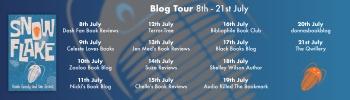 Snowflake blog tour banner