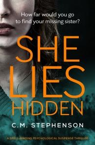 C.M. Stephenson - She Lies Hidden_cover