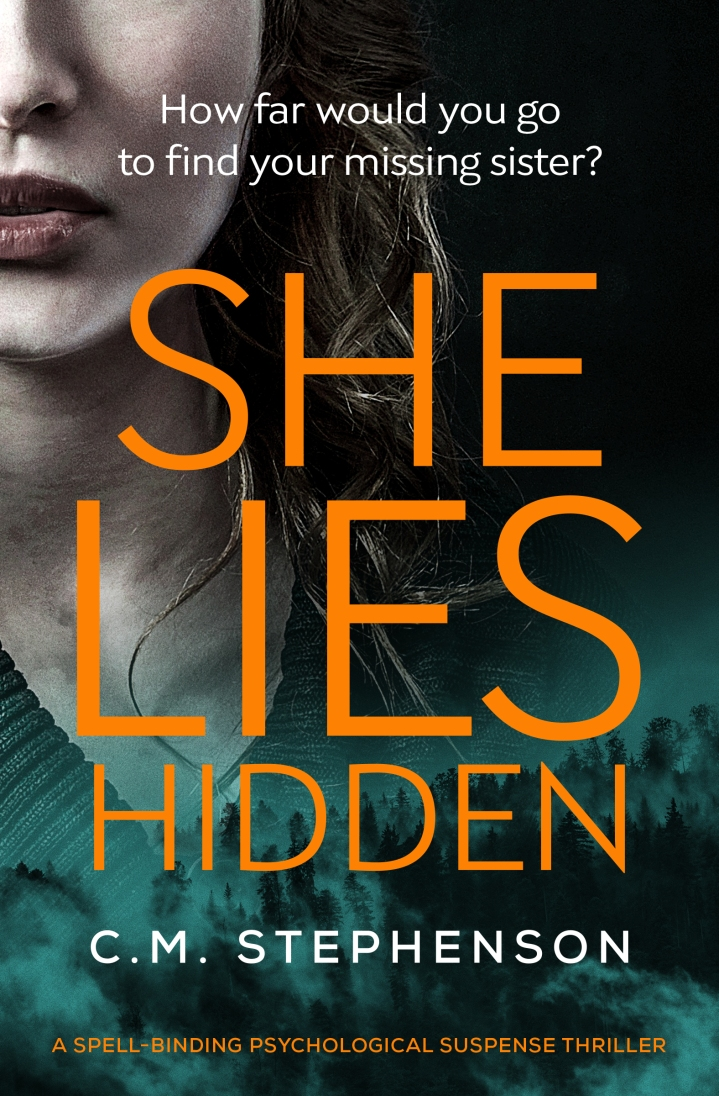 She Lies Hidden by CM Stephenson @cmstephenson73 @Bloodhoundbook #guestreview #blogblitz