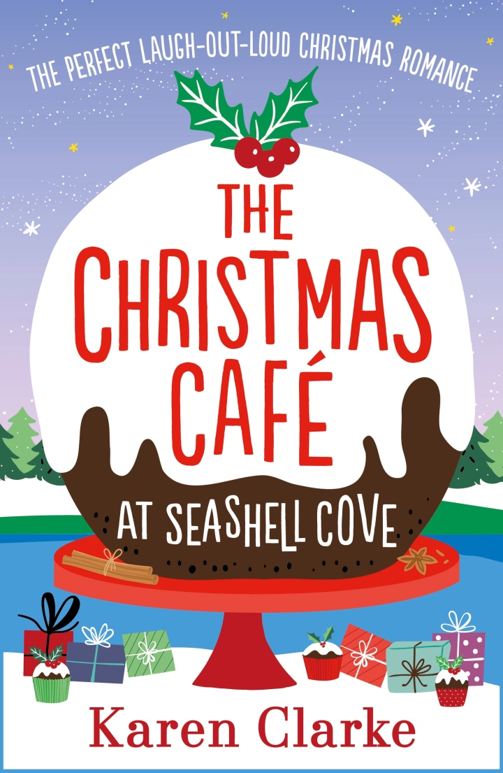 The Christmas Cafe at Seashell Cove by Karen Clarke @karenclarke123 @Bookouture @mgriffiths163 #guestreview #blogtour