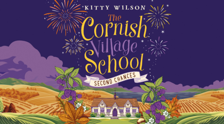 The Cornish Village School: Second Chances by Kitty Wilson @KittyWilson23 @Canelo_co #extract #blogtour