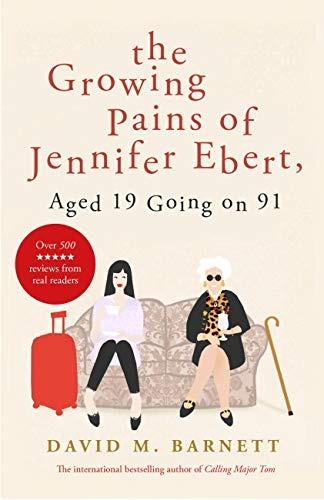 The Growing Pains of Jennifer Ebert, Aged 19 Going on 91 by David M Barnett @davidmbarnett @TrapezeBooks #guestreview @mgriffiths163 @Tr4cyF3nt0n