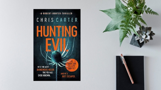 Hunting Evil by Chris Carter @simonschusterUK   @annecater  #RandomThingsTours