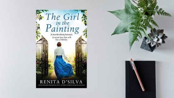 The Girl In the Painting by Renita D'Silva @RenitaDSilva @Bookouture @mgriffiths163 #review