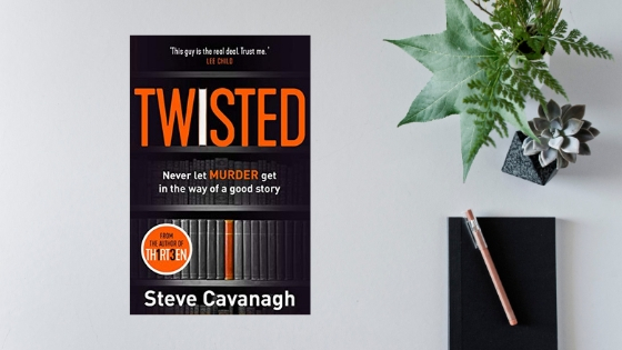 Twisted by Steve Cavanagh @SSCav @orionbooks #review