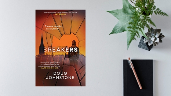 Breakers by Doug Johnstone @doug_johnstone @OrendaBooks #review #randomthingstours @annecater
