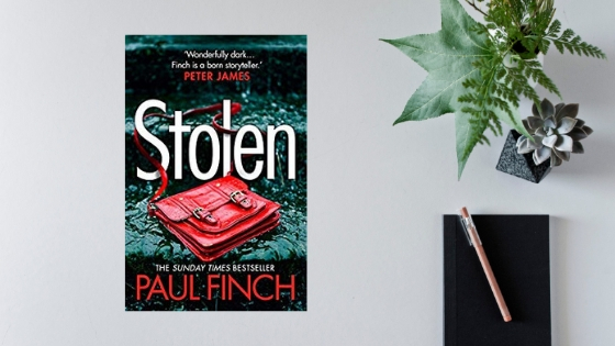 Stolen by Paul Finch @paulfinchauthor @AvonBooksUK #review #extract