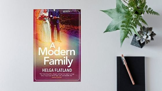 A Modern Family by Helga Flatland @HelgaFlatland @OrendaBooks @annecater #randomthingstours #review @rosie_hedger