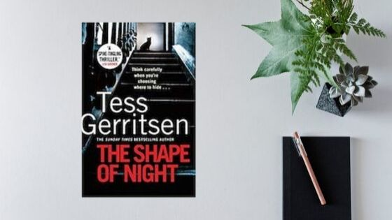The Shape of Night by Tess Gerritsen #50SoC