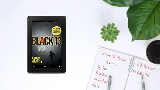 Black 13 by Adam Hamdy – GuestPost