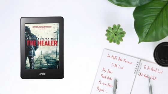 The Healer by Antti Tuomainen trns by Lola Rogers