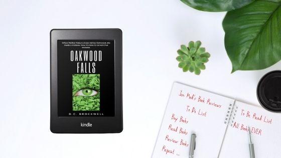 Oakwood Falls by D.C.Brockwell
